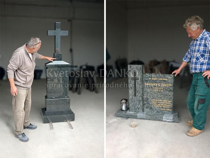 Finálne úpravy pomníka pred realizáciou