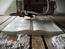 Profilovanie - frézovanie kameňa, dokončovanie