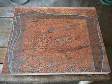 Výroba tvarovaného pomníka - šablóna
